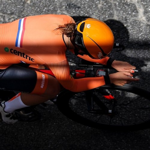 Cádomotus Oméga Casque Aéro Cyclisme - Triathlon | Orange