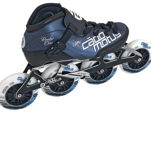 Cádomotus Roller Rookie One Kids Inline Skate 4x90 | 3x100 race setup