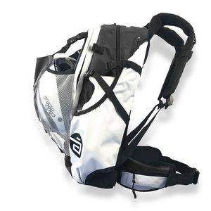 Cádomotus Airflow Rucksack | Sporttasche zum Radfahren und Skaten - schwarz