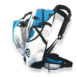 Cádomotus Airflow Wedstrijdtas: sporttas (sportrugzak) voor wielrennen en schaatsen | aqua blauw