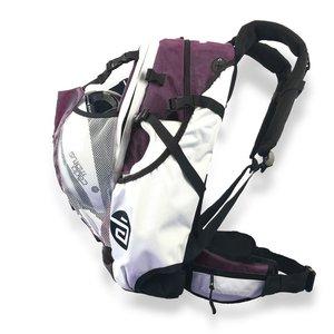 Cádomotus Airflow Wedstrijdtas: sporttas (sportrugzak) voor wielrennen en schaatsen  | aubergine