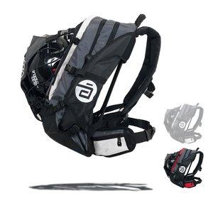 Cádomotus Airflow XL Wedstrijdtas: sporttas (sportrugzak) voor wielrennen en schaatsen   zwart-grijs