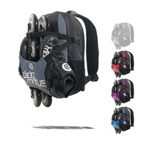 Urban Flow ice and inline skate gear bag for kids | Black