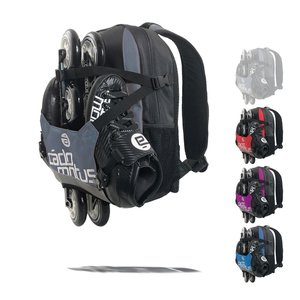 Cádomotus Urban Flow ice and inline skate gear bag for kids | Black