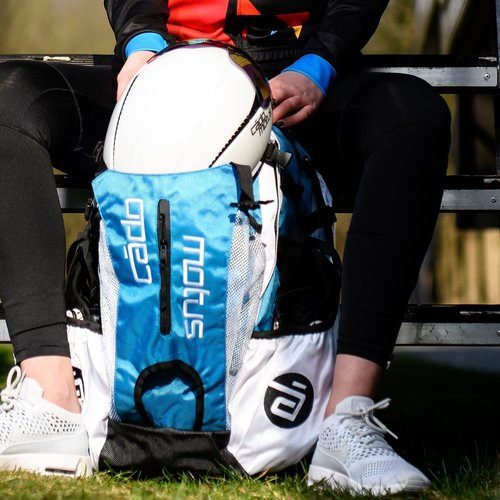 Cádomotus Airflow Race Day Gear Bag | aqua blue