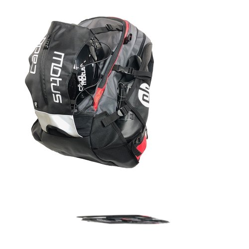 Cádomotus Airflow XL Race Day Gear Bag | grey-red