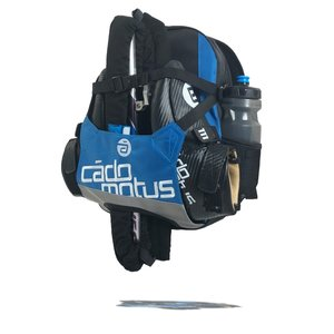 Cádomotus Urban Flow ice and inline skate gear bag for kids  | Blue
