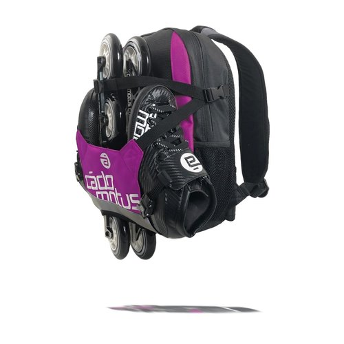 Cádomotus Urban Flow ice and inline skate gear bag for girls | Purple