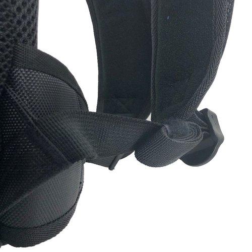 Cádomotus Kinderrugzak: sporttas (sportrugzak) voor schaatsen en skeeleren | Zwart