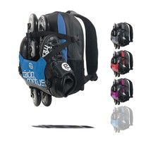 Urban Flow ice and inline skate gear bag for boys| Blue