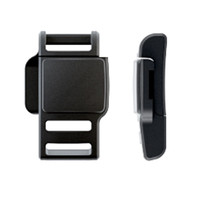 Magnetic helmet buckle for replacement