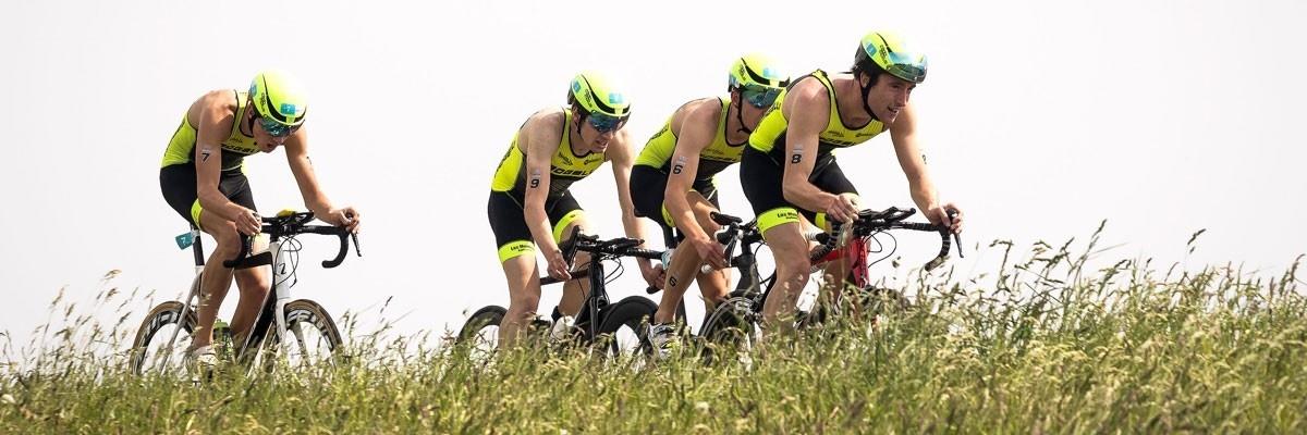 Tri-mates gewinnen Triathlon almere