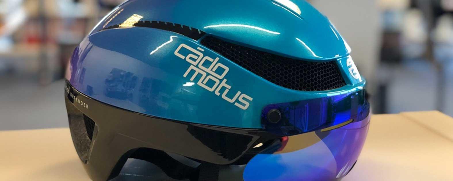Zeer goed geventileerde Aero helm