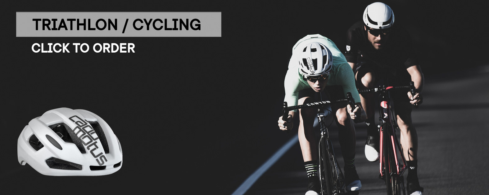 Order Sigma cycling helmet