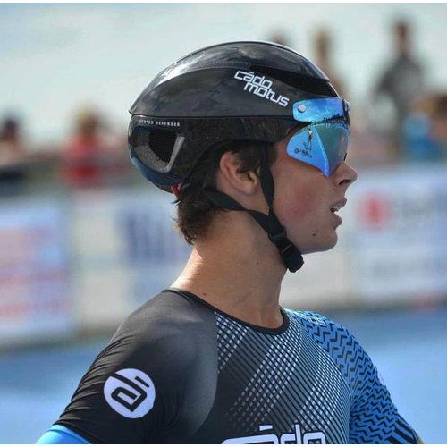 Cádomotus Omega Aero helmet for speedskating and cycling - Black