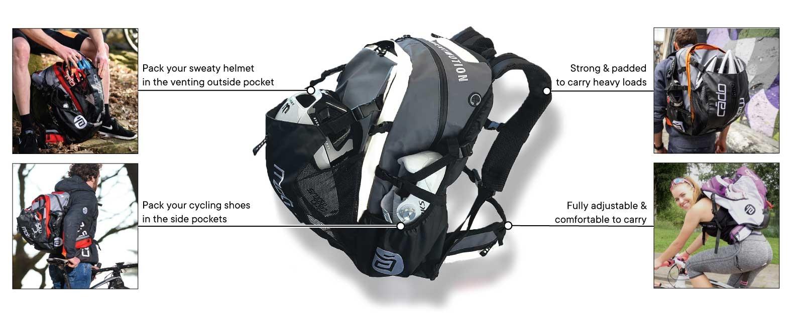 Waterflow Gear Bag Features