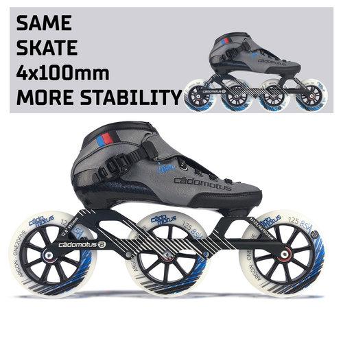 Cádomotus Versatile-3 Speed Skate 3x125mm | Größe 37-47