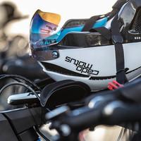 Eine neue Generation von Fahrradhelmen für Triathleten; das Beste aus verschiedenen Sportarten