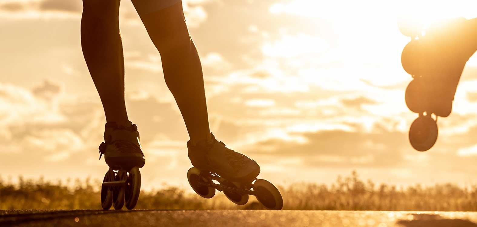 Beweglichkeit und Geschwindigkeit beim Inlineskaten