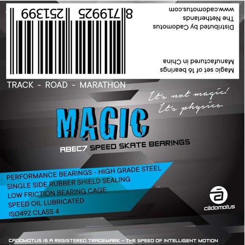 Cádomotus Magic ABEC-7 roulements pour Rookie et Versatile/Agility 16 pack