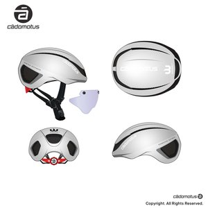Cádomotus Omega Aero helmet for speedskating and cycling in your team colours!