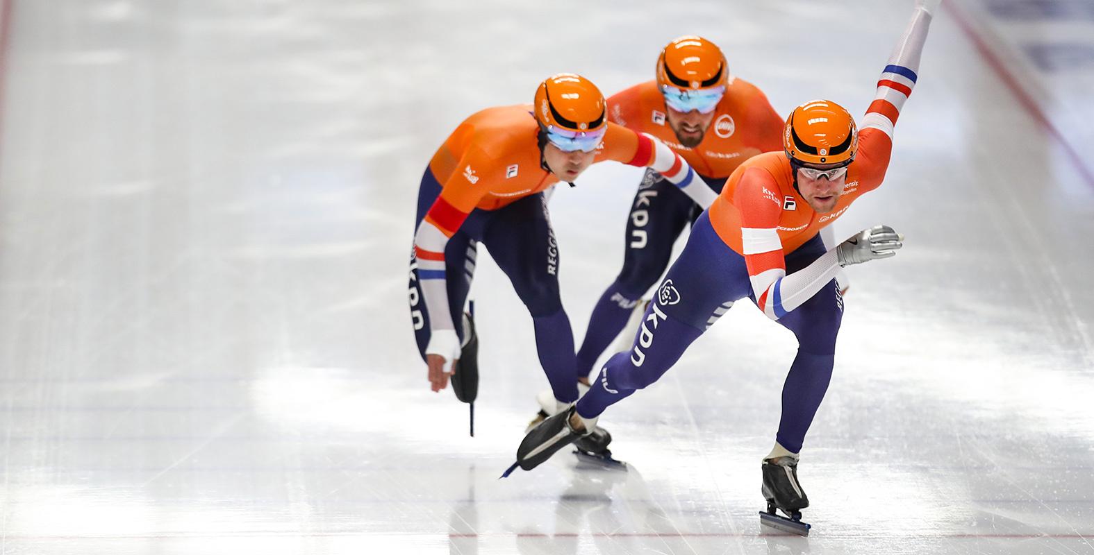 Team helm, schaatshelm