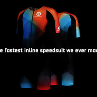The new Epic inline skate suit collection: minimal drag, maximal comfort