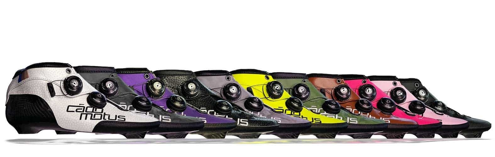 Colors for custom inline boots