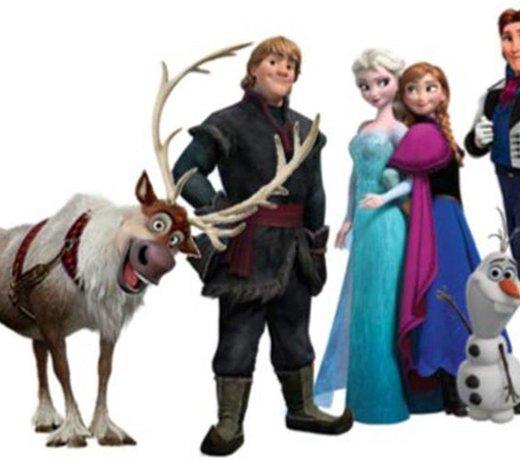 Alles van Frozen