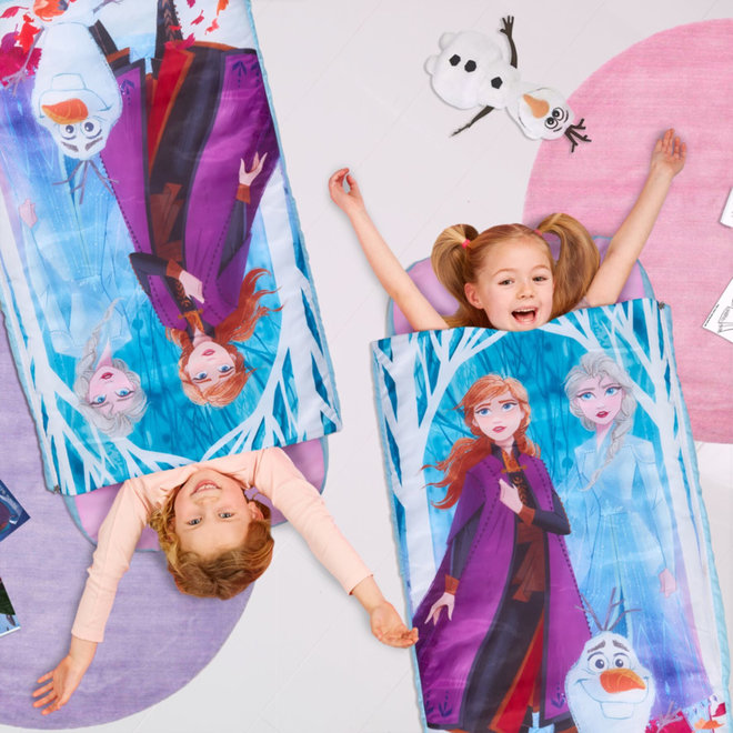 Disney Frozen2 Logeerbed - Slaapzak met Luchtbed - Readybed WorldsApart