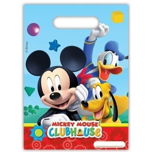 Mickey Mouse 6 Mickey Mouse Uitdeelzakjes - Disney