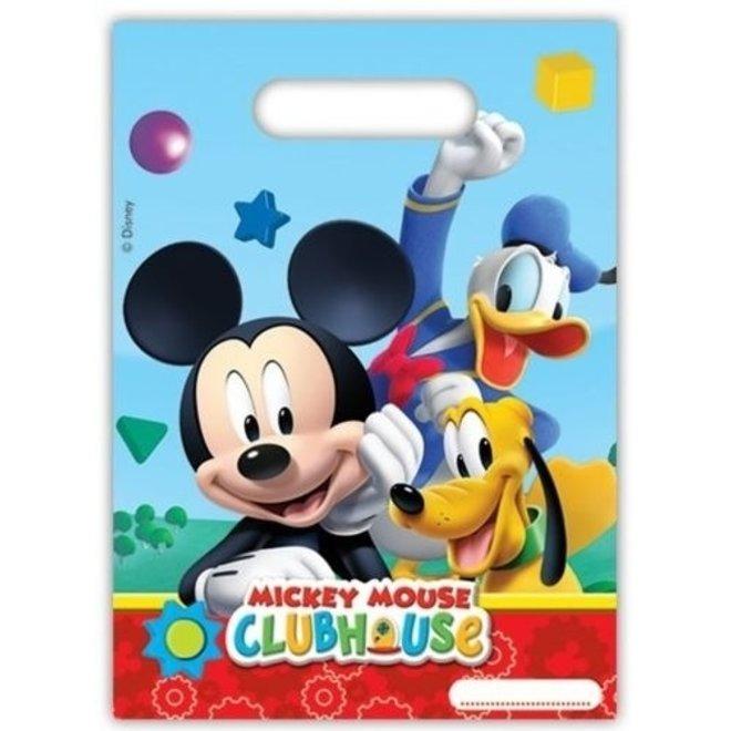 6 Mickey Mouse Uitdeelzakjes - Disney