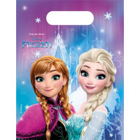 6 Disney Frozen Uitdeelzakjes - Northern Lights
