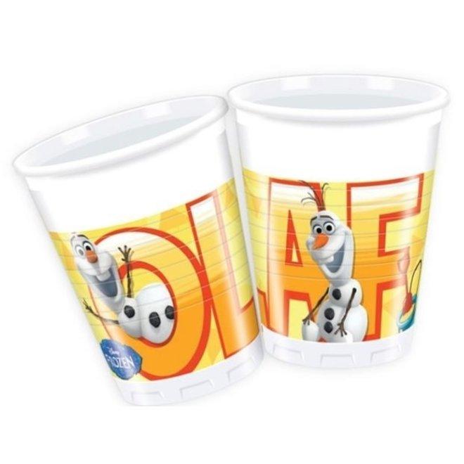 Disney Frozen Olaf Bekertjes - 8 stuks