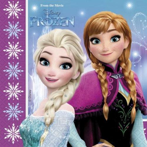 Frozen 20 Disney Frozen Servetten - Northern Lights