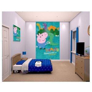 Peppa Pig Peppa Pig Behangposter - Walltastic