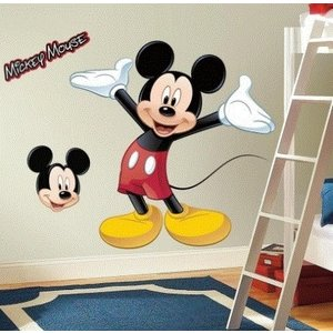 Mickey Mouse Mickey Mouse Muursticker Giant - RoomMates