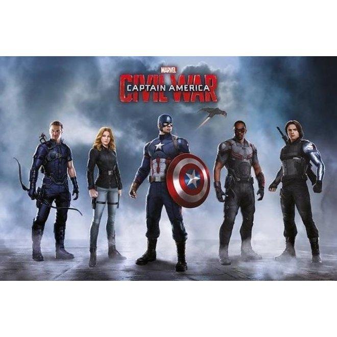 Avengers Captain America Civil War - Maxi Poster