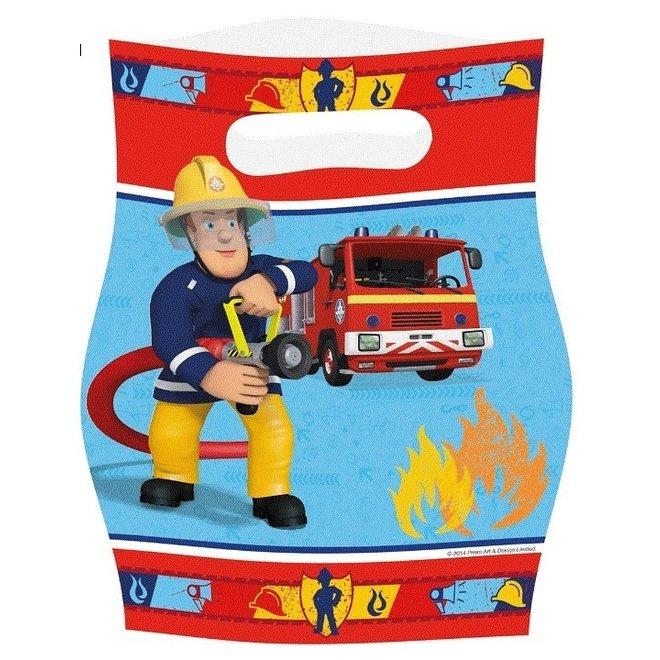 Brandweerman Sam Uitdeelzakjes - 8 stuks
