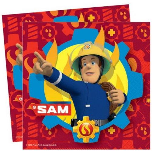 Brandweerman Sam Brandweerman Sam Servetten - 20 stuks