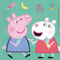Peppa Pig Servetten - 20 stuks