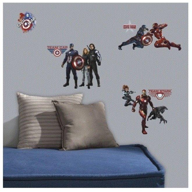 Avengers Muurstickers Civil War - RoomMates
