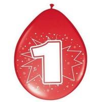 8 Ballonnen 1 -2-3-4-5-6 jaar