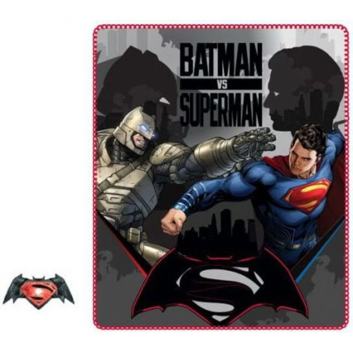 Batman & Superman Batman vs Superman Fleece Deken