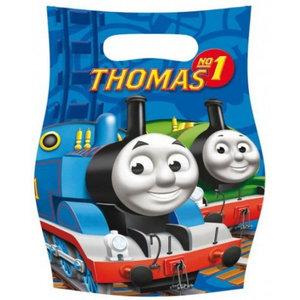 Thomas de Trein Thomas de Trein Uitdeelzakjes - 6 stuks