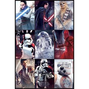 StarWars Star Wars The Last Jedi Characters - Maxi Poster