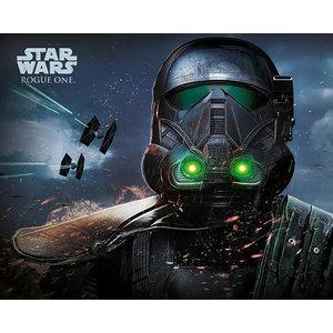 StarWars Star Wars Rogue One Death Trooper Glow - Mini Poster