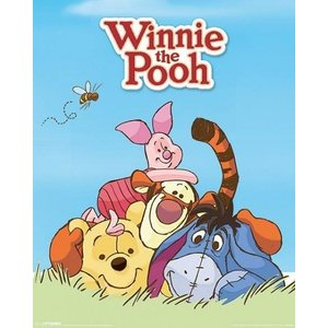 Winnie de Poeh Winnie de Poeh and Friends - Mini Poster