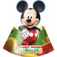 6 Mickey Mouse Feesthoedjes - Disney