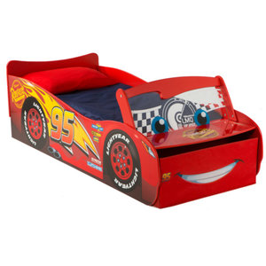 Cars Disney Cars McQueen Autobed met Led Verlichting